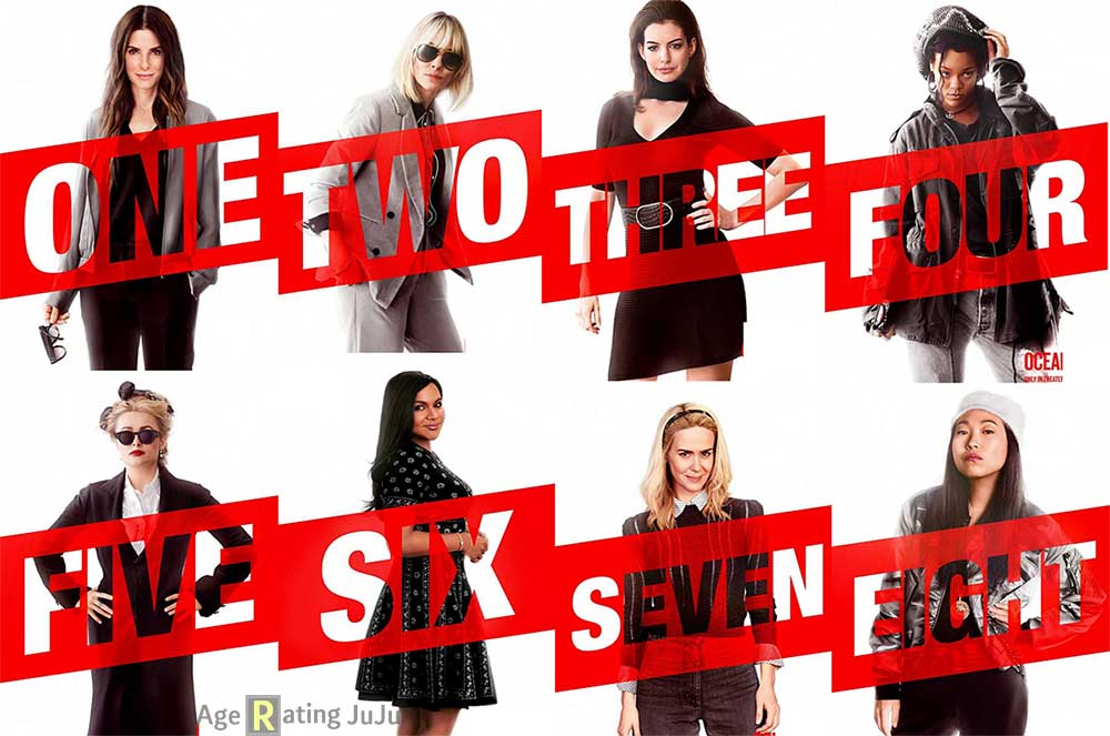 Movie Poster 2019: Ocean's Eight Age Rating