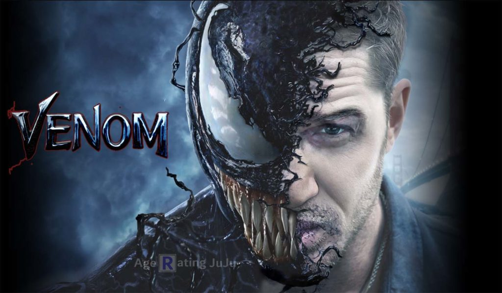 Movie Poster 2019: Venom Movie 2018 Restriction Certificate